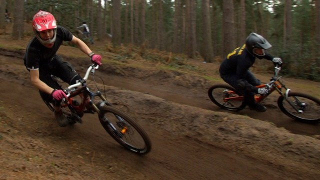 [Chicksands Dual Slalom]