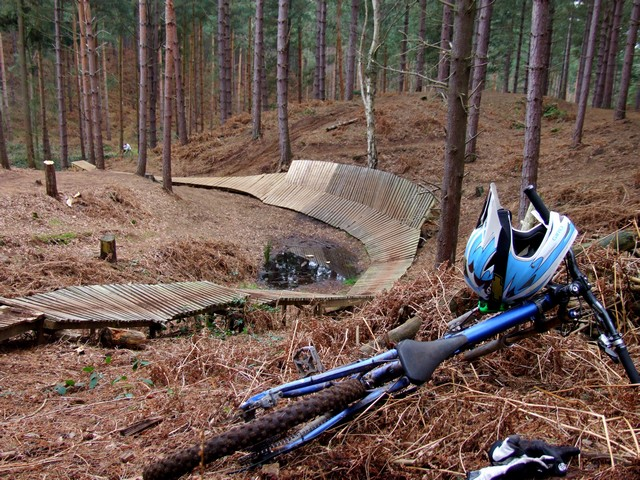[Chicksands Wall Ride]
