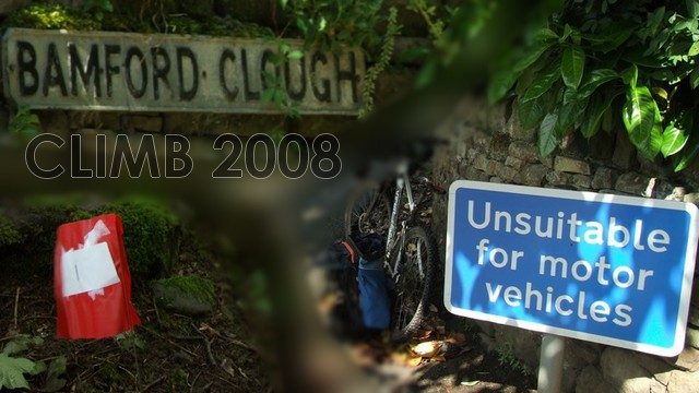 Bamford Clough Climb 2008