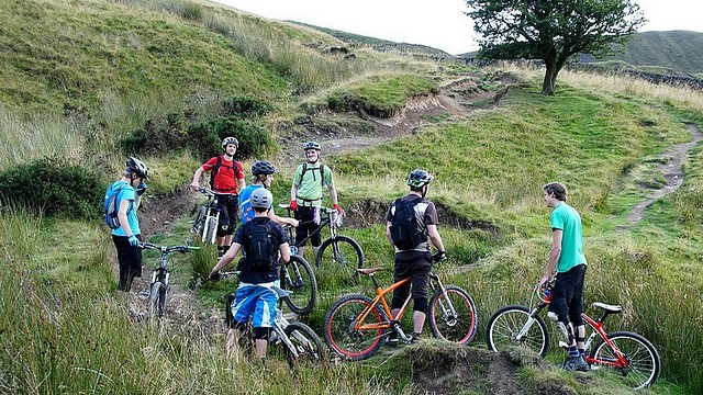 [08572 Mam Tor - Greenlands bridleway, Mountain Biking, Peak District]