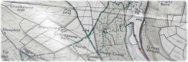 [ Peak District Map Photo ]