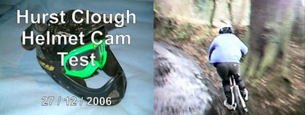 Helmet Cam test
