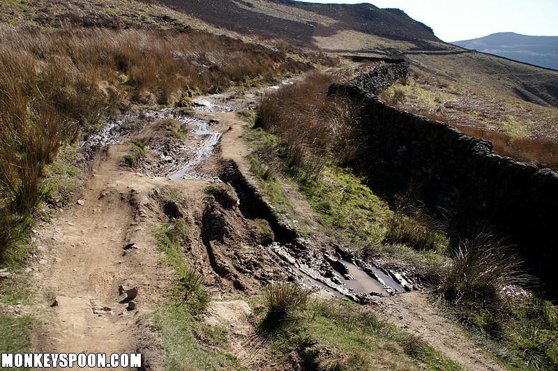 Track Derwent Edge Mountain Biking In The Peak District